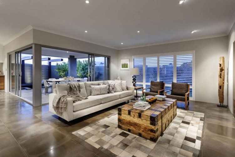 Stunning Interieur Salon Design Contemporary - Amazing House ...