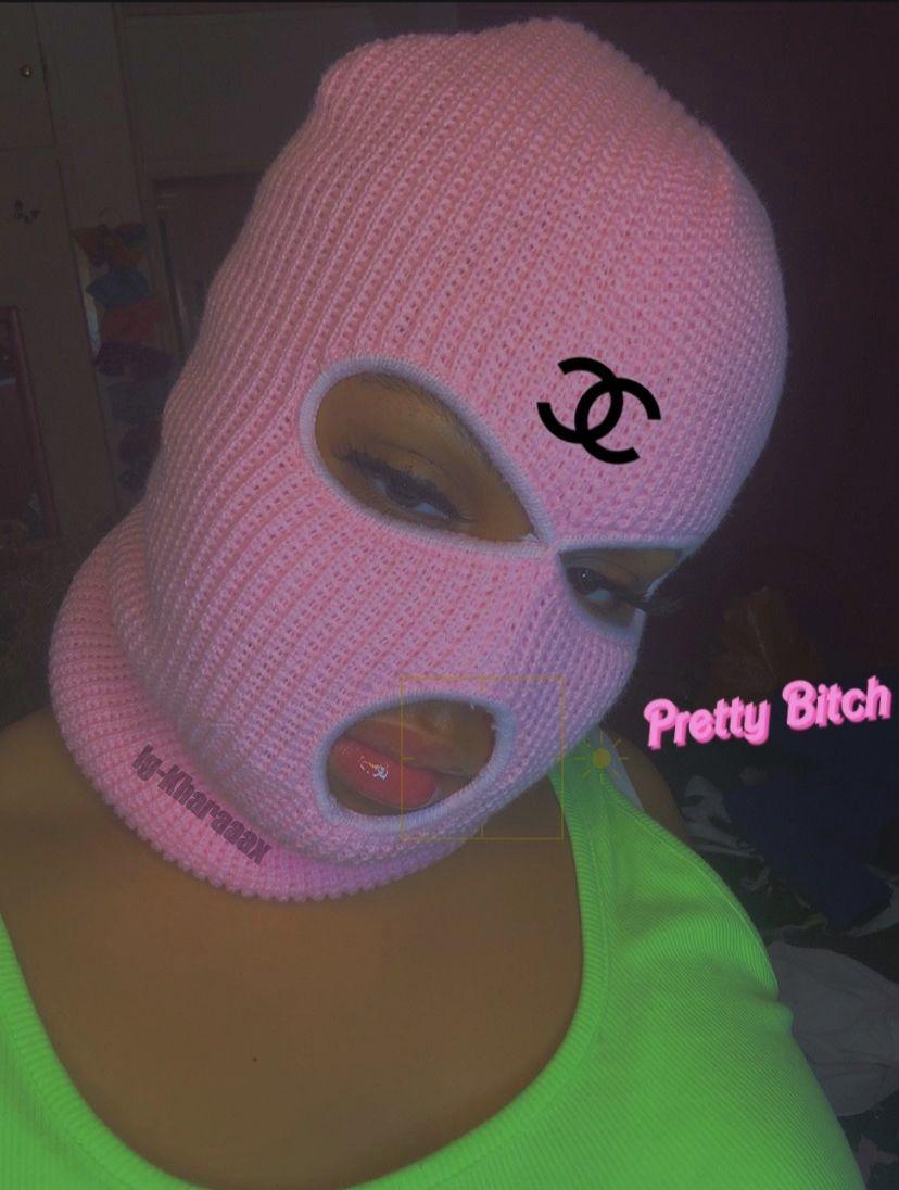 Pink Baddie Ig Kharaaax Badass Aesthetic Bad Girl Wallpaper Gangster Girl