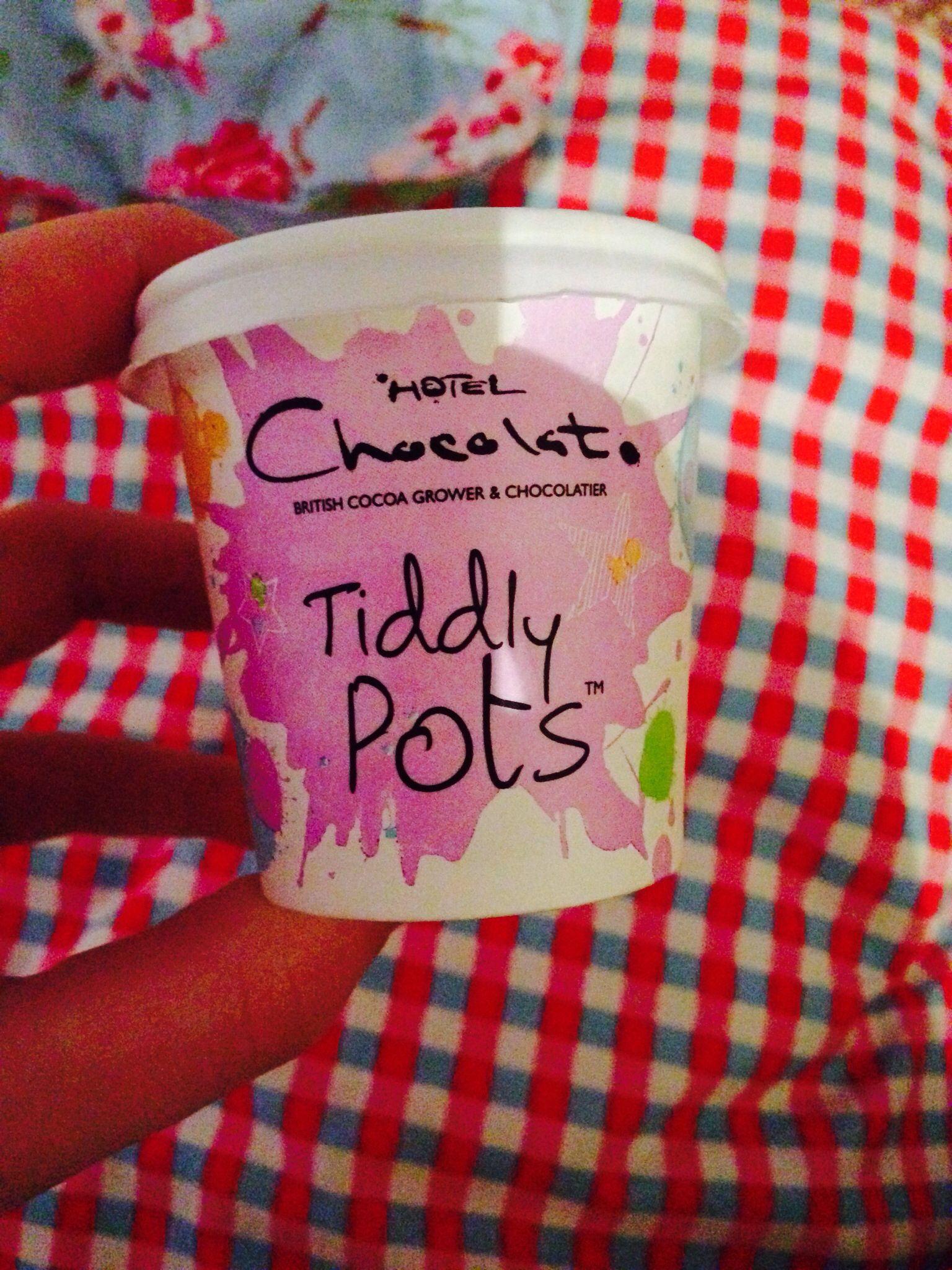 Tiddly pots #hotelchocolat