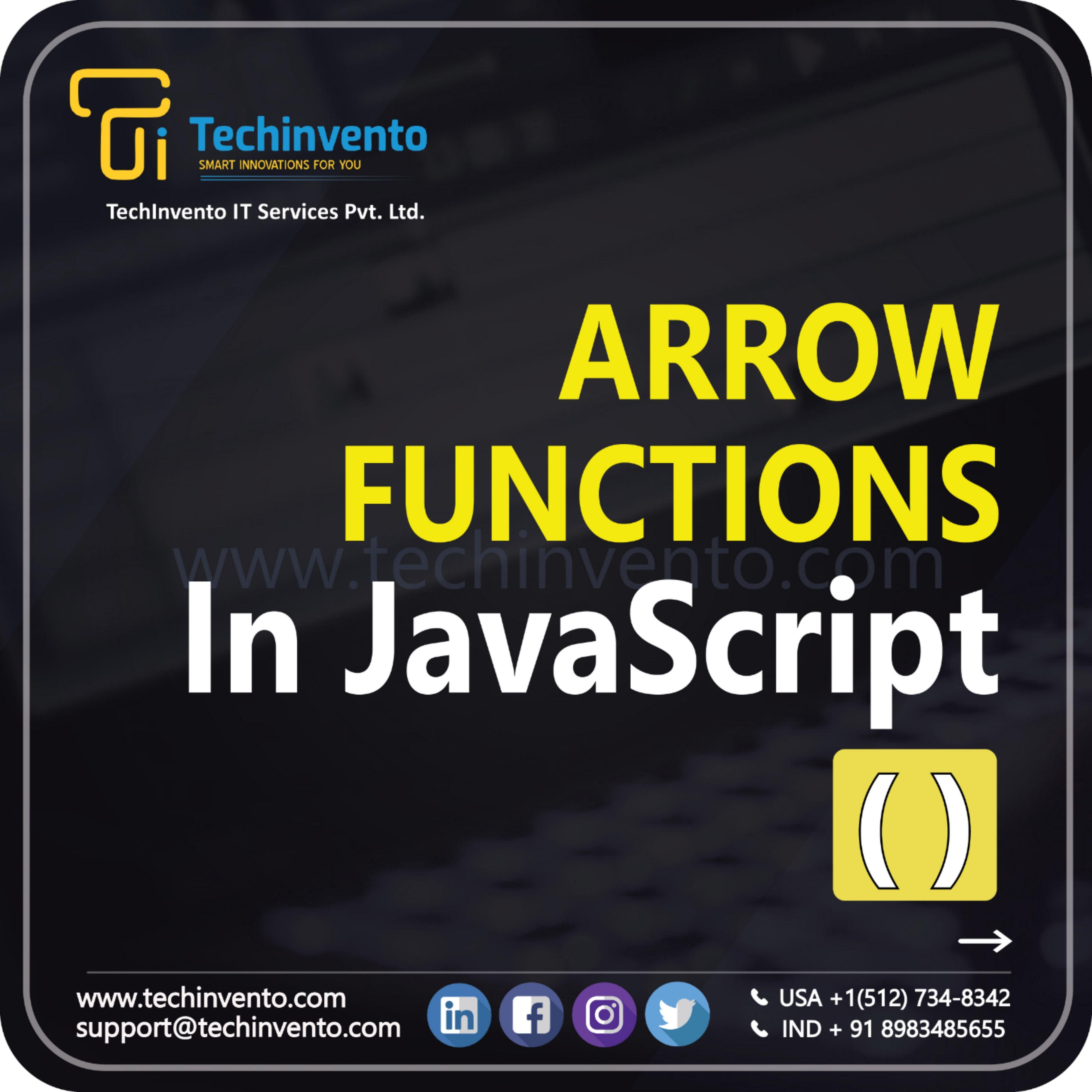 Arrow Function In
