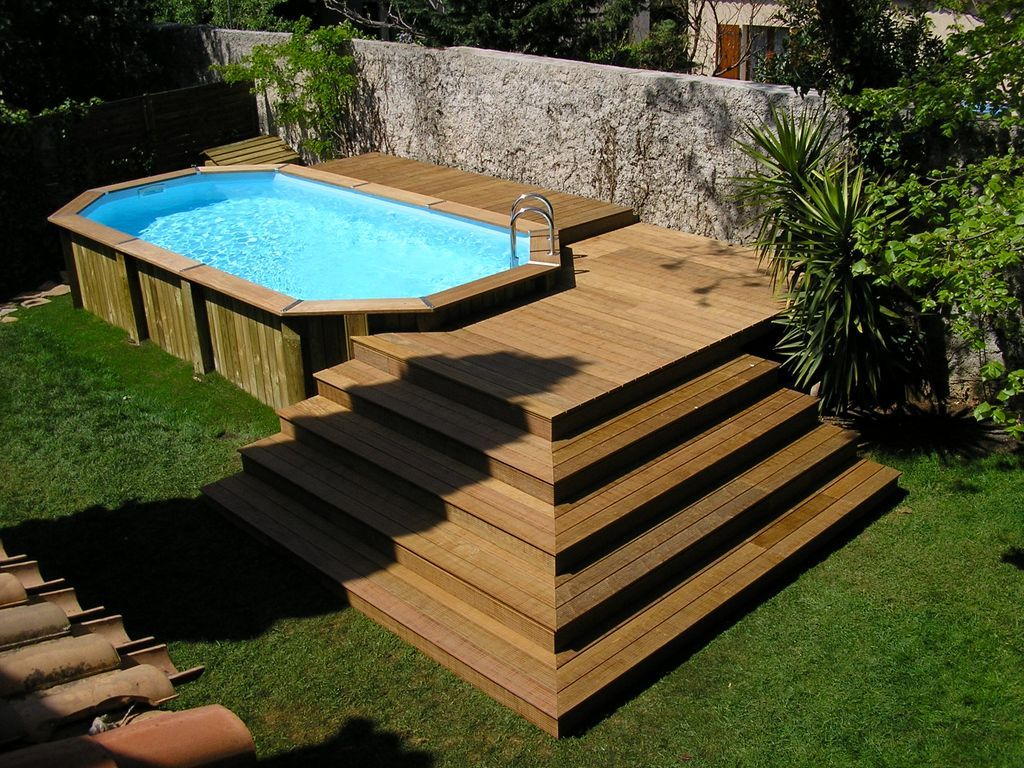 Piscine hors sol en bois 1 024 768 pixels for Piscine non enterree