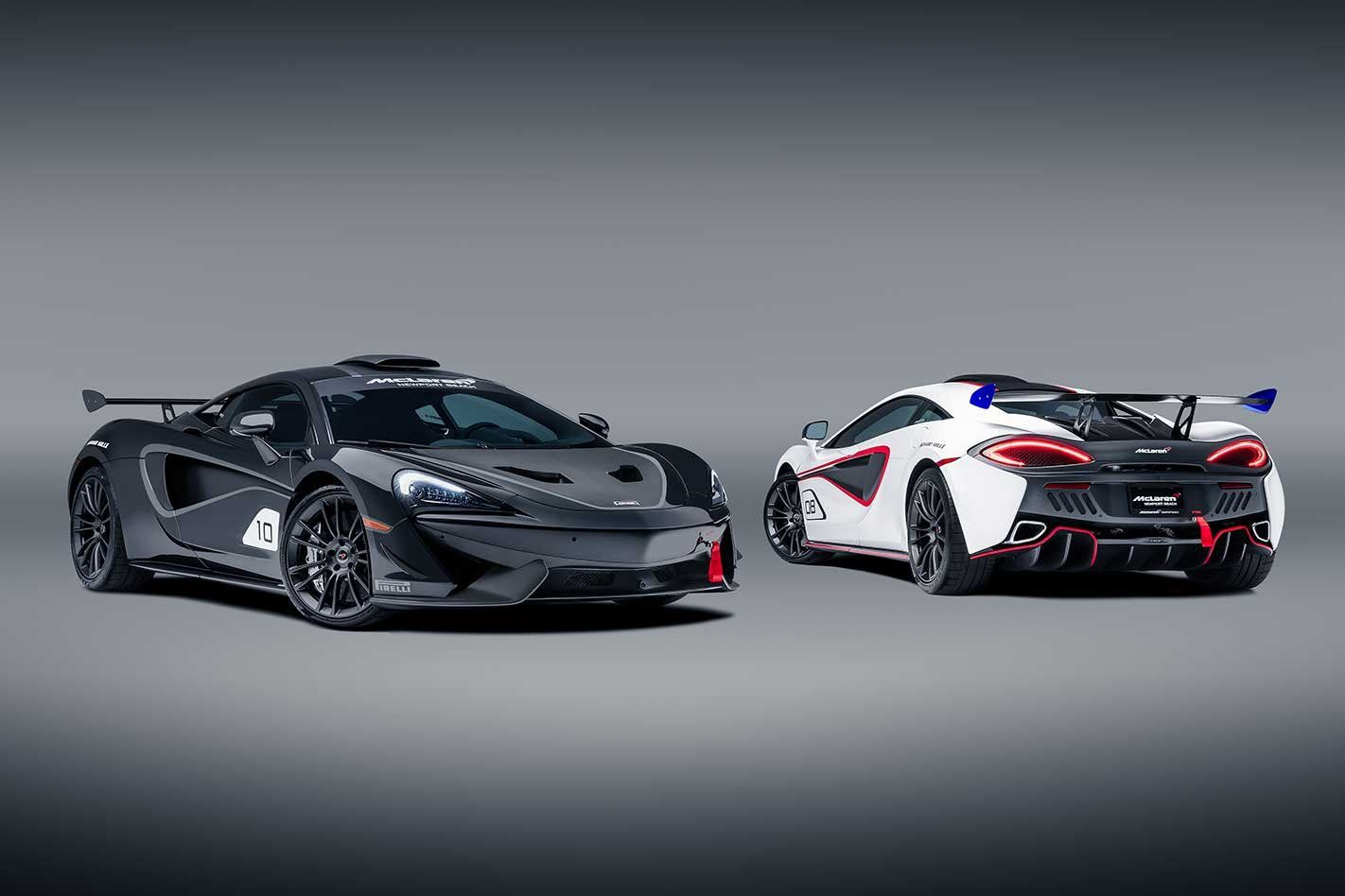 Ten Special Mclaren 570s Gt4 Inspired Cars Made For The Road