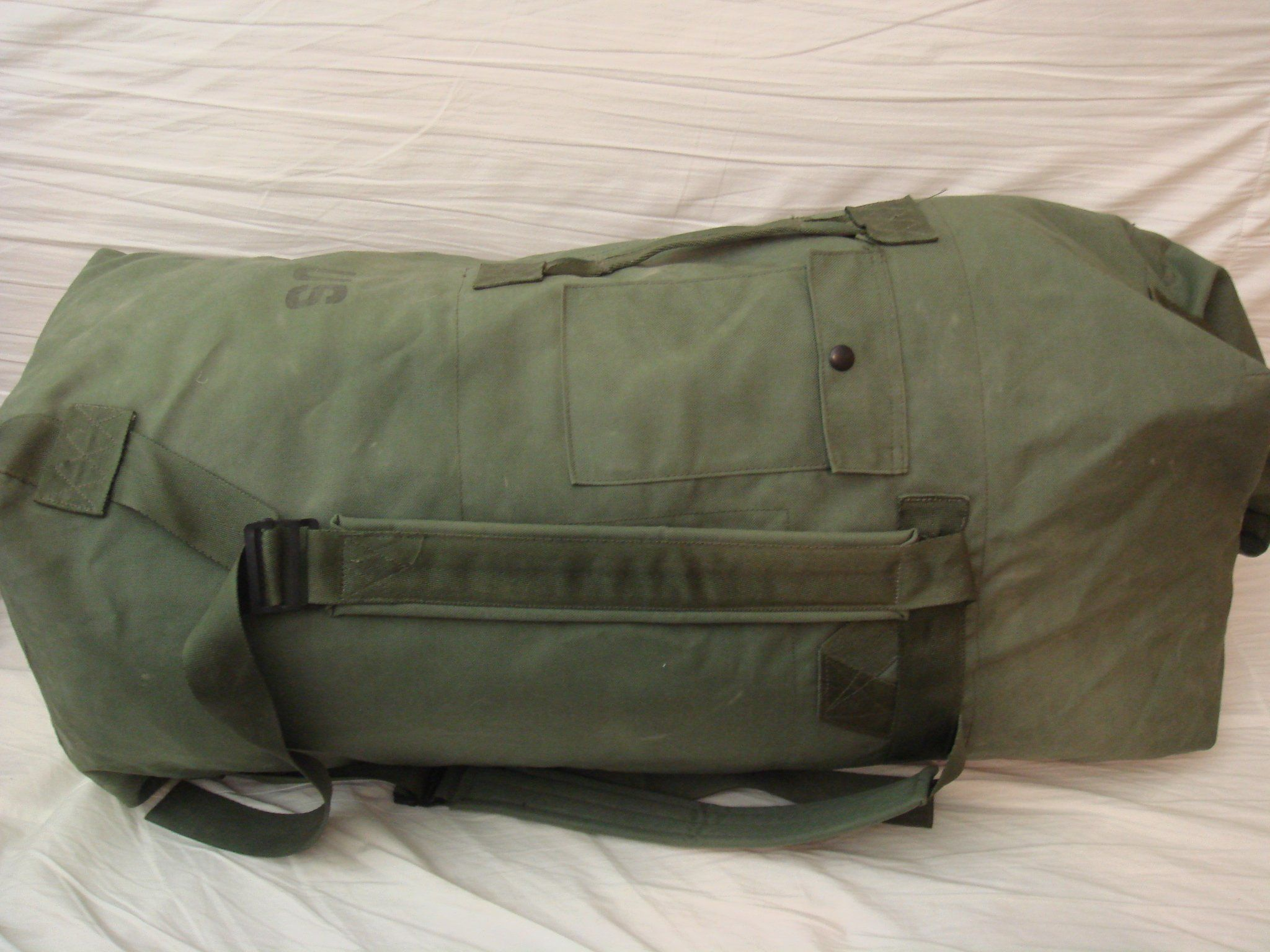 7b7921f052 Official US Military Army Navy Surplus Duffle Duffel Bag