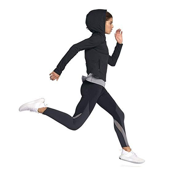 7444568d44f5 Nike Women Shield Convertible Jacket - Black Reflective Silver ...