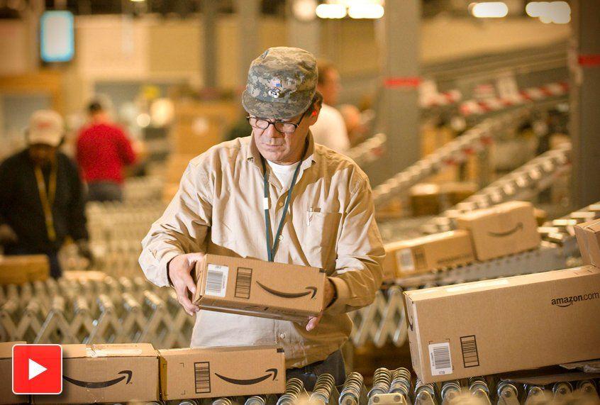 Jeff Bezos Deemed Richest Man In World While Amazon Warehouse