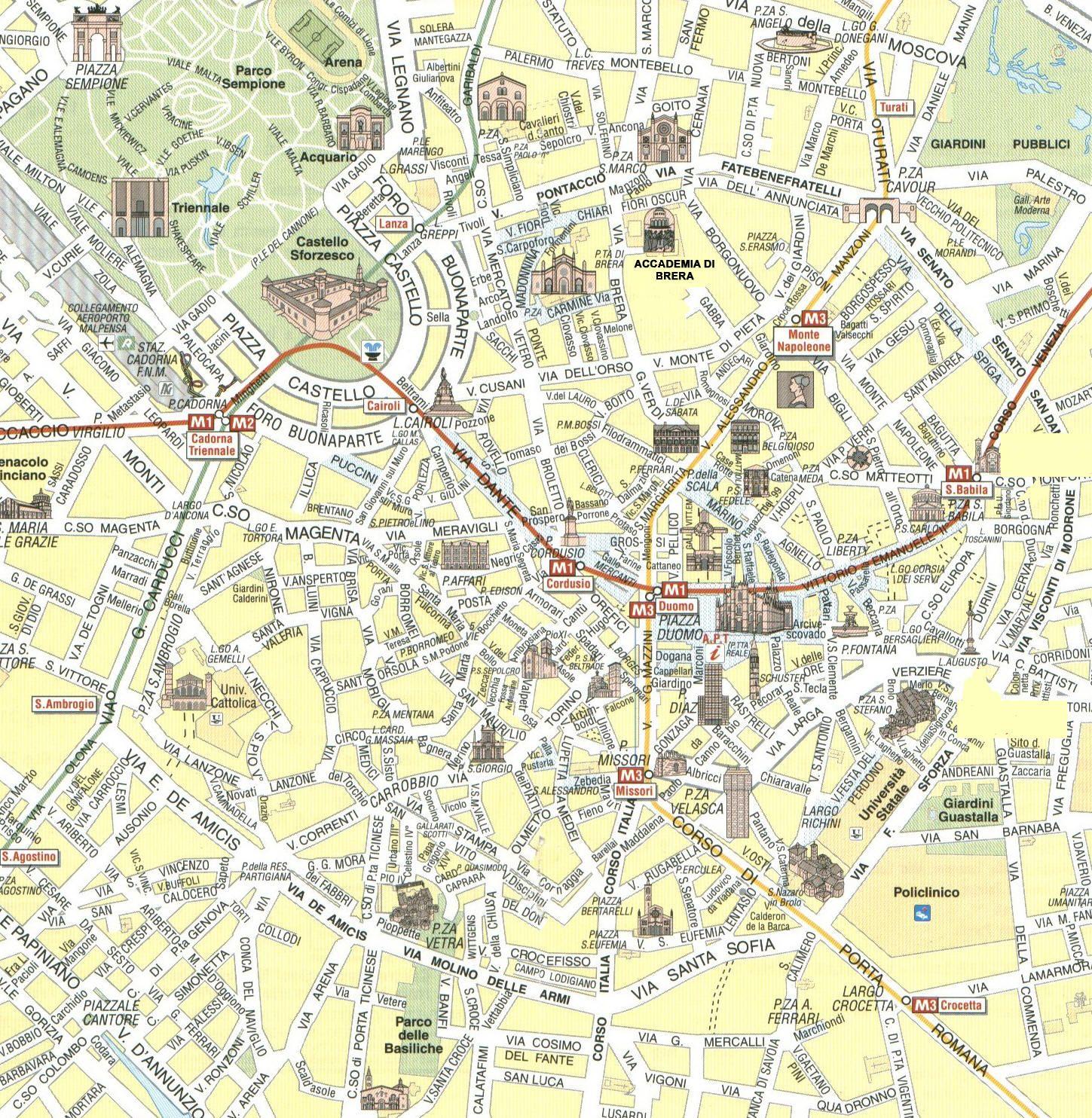 Cartina Dellitalia Milano.Pin Di Ivan Ivanovi Su Milano Milano Mappa Mappe