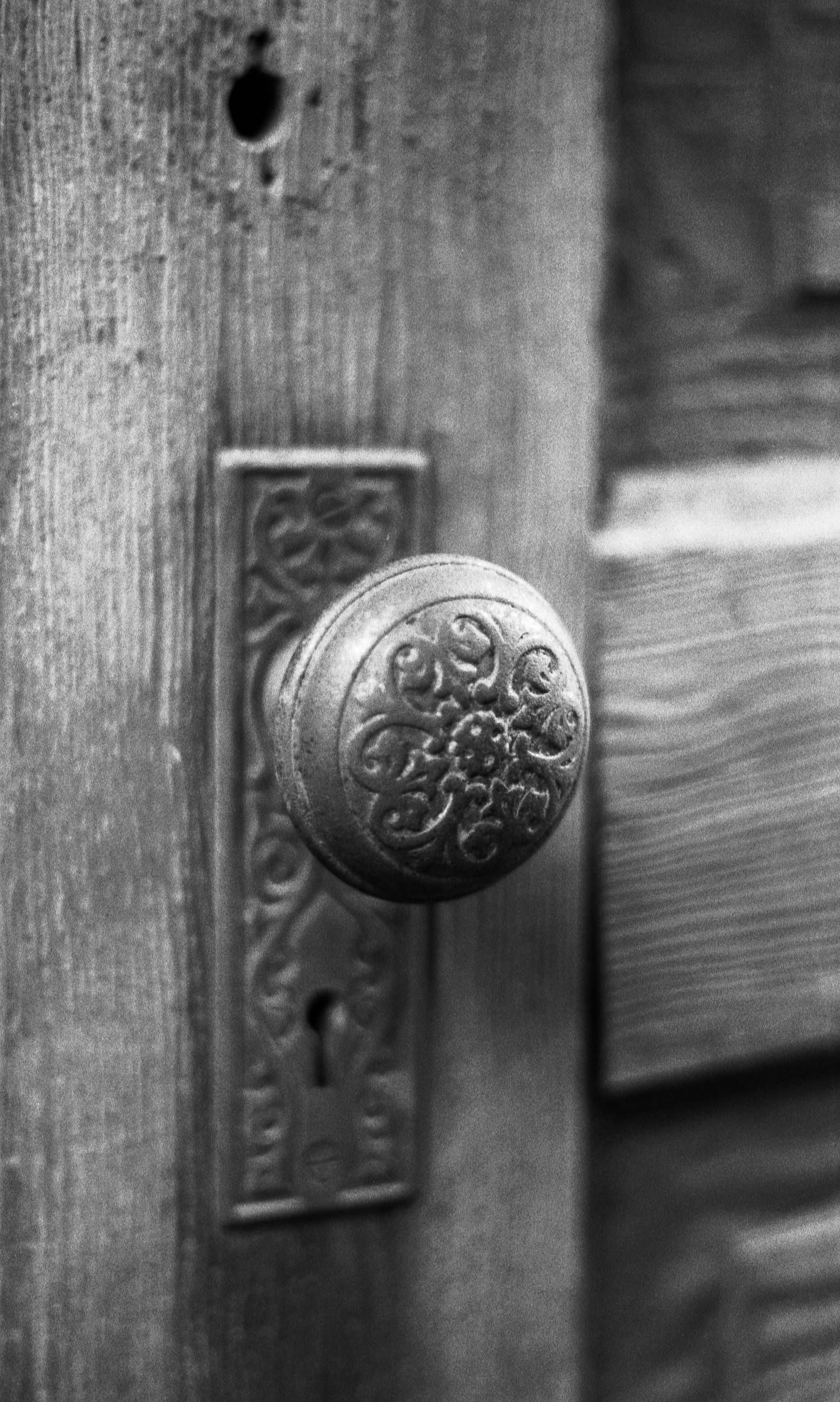 Antique door black and white photography minimalist decor minimalist home decor minimalist interior