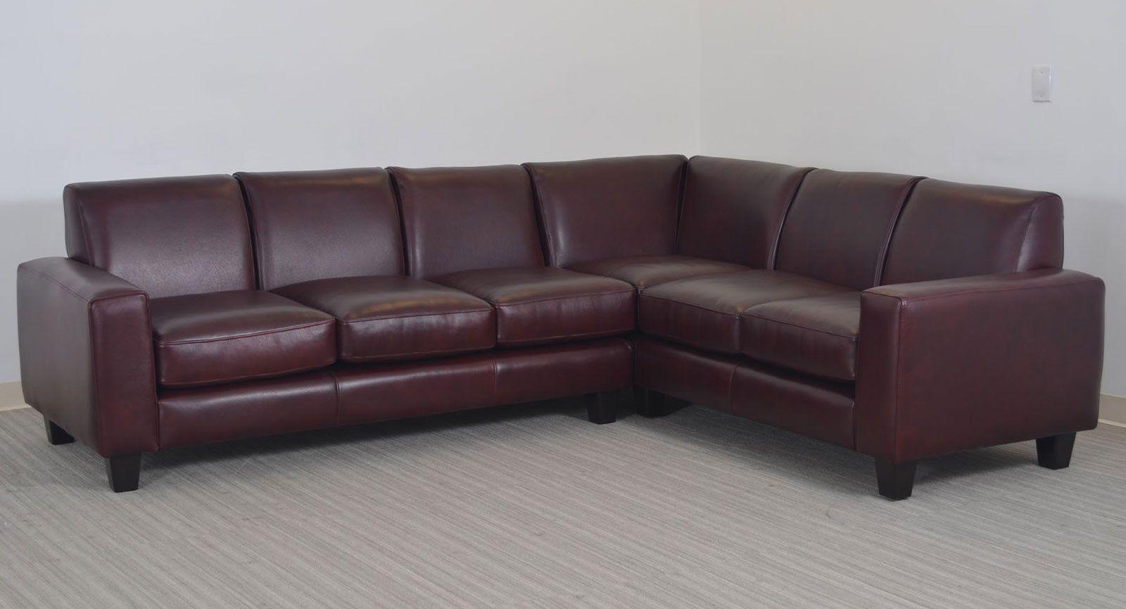 Wondrous The Elegante Sofa Sectional By The Leather Sofa Co A Spiritservingveterans Wood Chair Design Ideas Spiritservingveteransorg