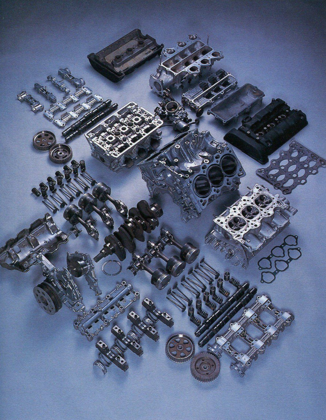 Honda Nsx Engine Breakdown
