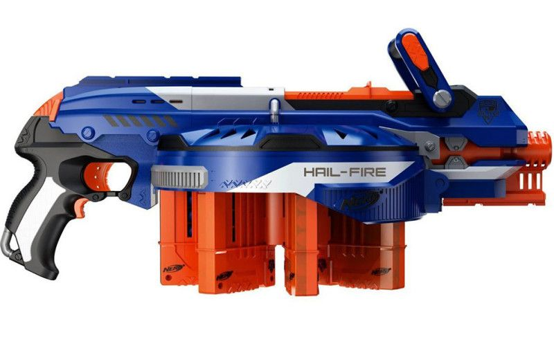Nerf's New Elite Accustrike Darts And Blasters Actually Hit The Target |  Fatherly
