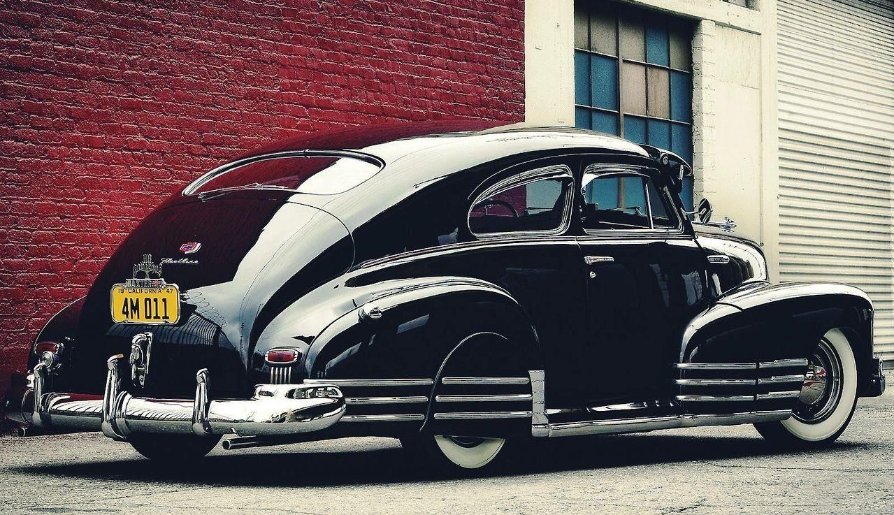 Fleetline Aerosedan, Sun Visor, Car Club Plaque over the license ...