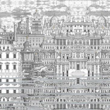 Papier Peint Riflesso Fornasetti - Cole And Son | Patterns And
