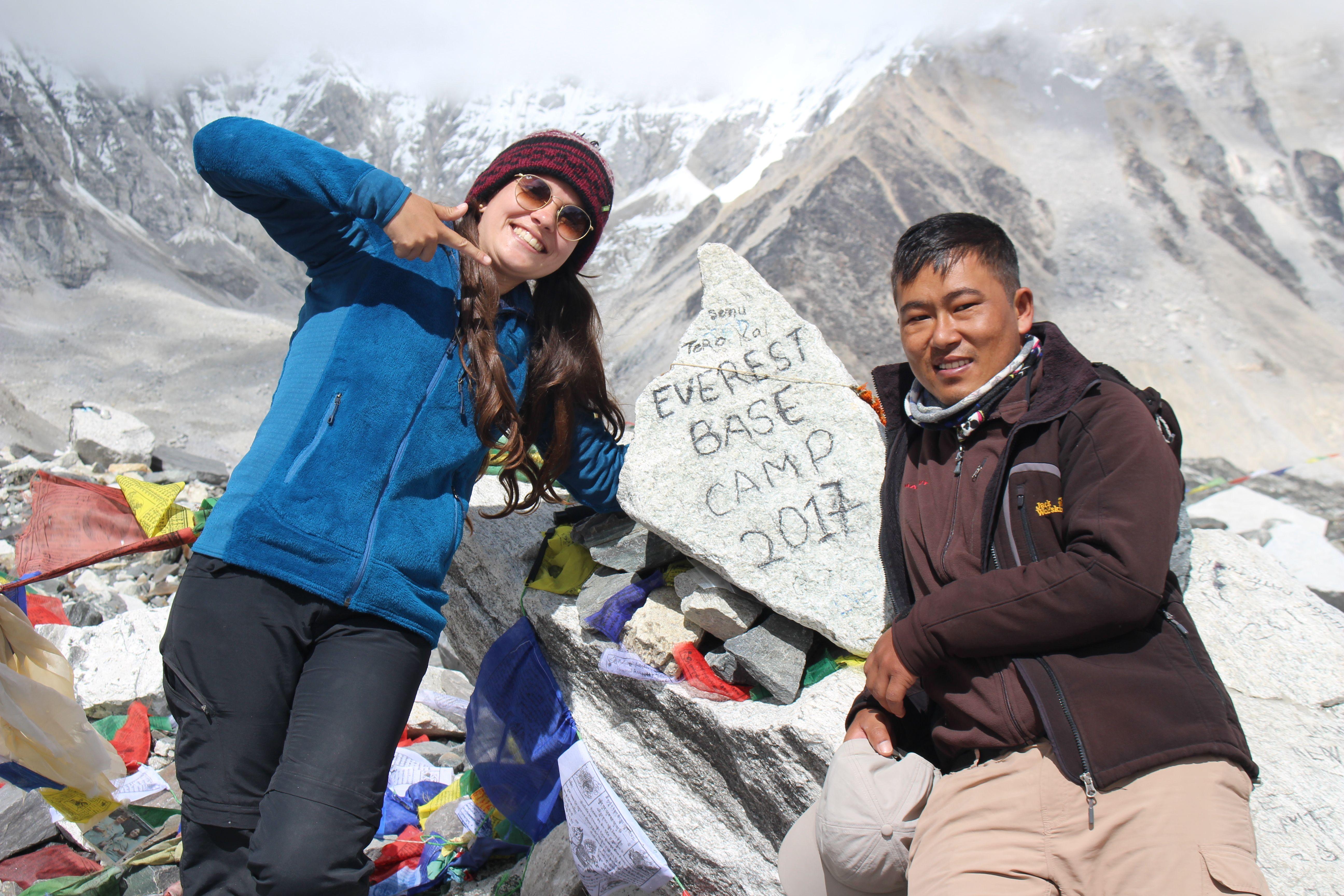 Everest base camp trek from everest routes everest base