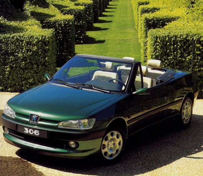 1995 Peugeot 306 Cabriolet Roland Garros Edition Peugeot Cabriolets Top Cars