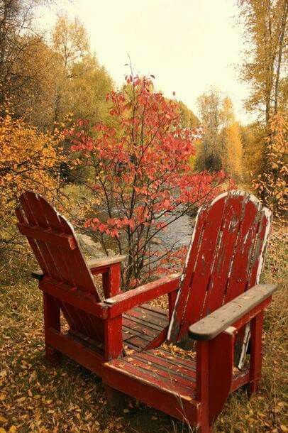 Autumn Outdoor Chairs A Great Place To Sip Rum U0026 Apple Juice