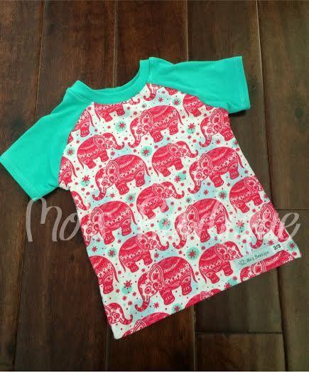 Elephant T-shirt size 2/3