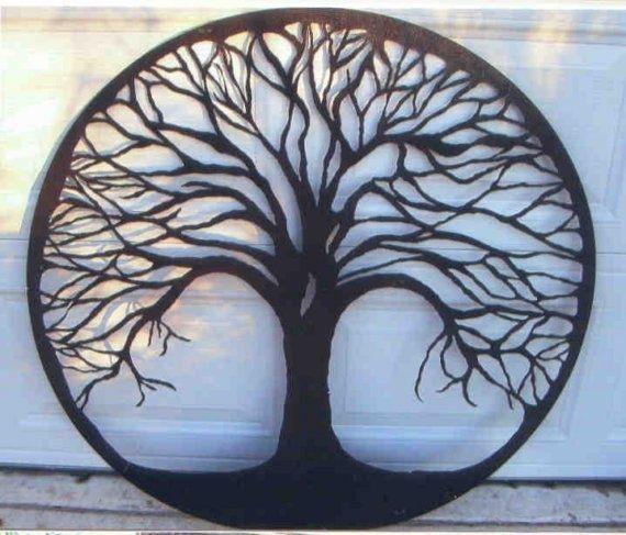 Tree Of Life Metal Tree Wall Art Art Gallery Wall Metal Tree