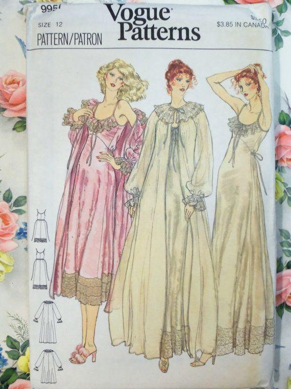 Hermosa Vintage de los años ochenta Vogue por raggspatternstash ...
