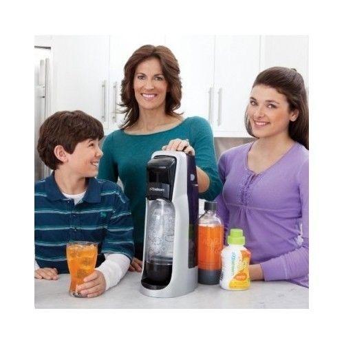 Soda Maker Sodastream Home Jet Fountain Starter Kit Carbonator Pop Stream  #SparklingWaterCo2Beverage