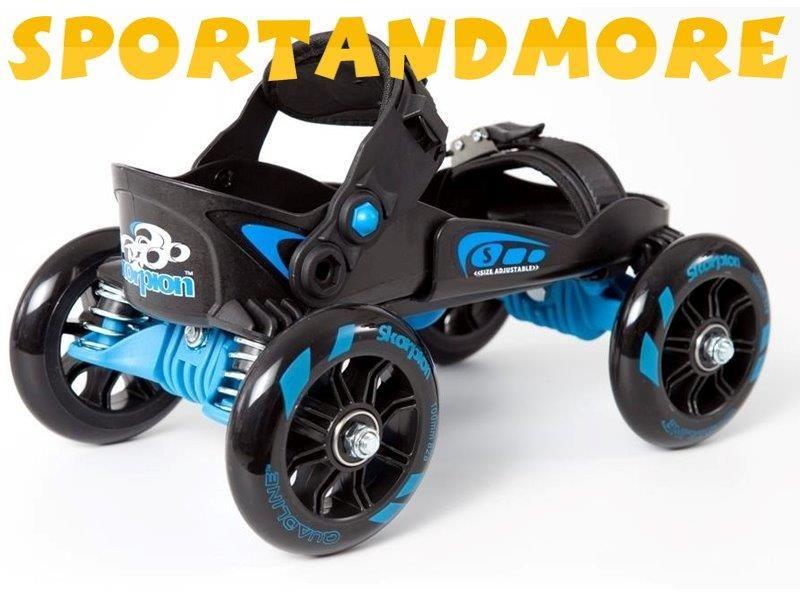 Skorpion Rollerskates, leverbaar in diverse kleuren en 2 maten S(schoenmaat 35-39) en L schoenmaat(40-45). Verkrijgbaar via SPORTANDMORE.NL, onze shop SPORTANDMORE-MET-THEO op EBAY.NL en via WWW.BOL.COM
