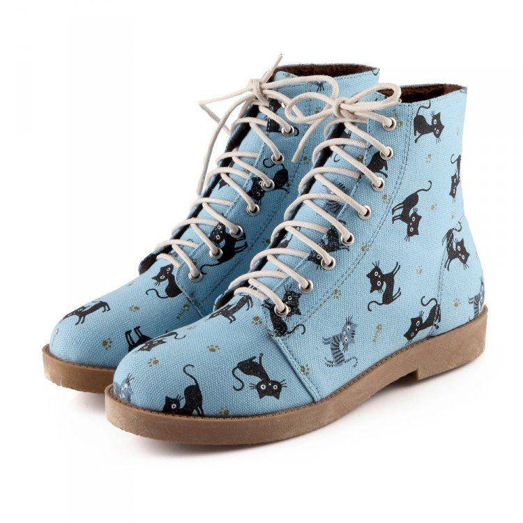Cute cartoon cat boots SE8364