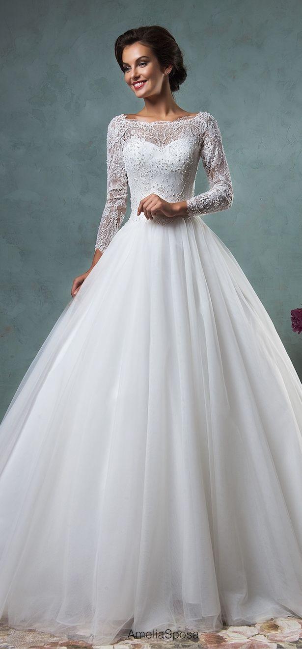 Conservative wedding dresses  Amelia Sposa  Wedding Dresses  Part   Amelia sposa