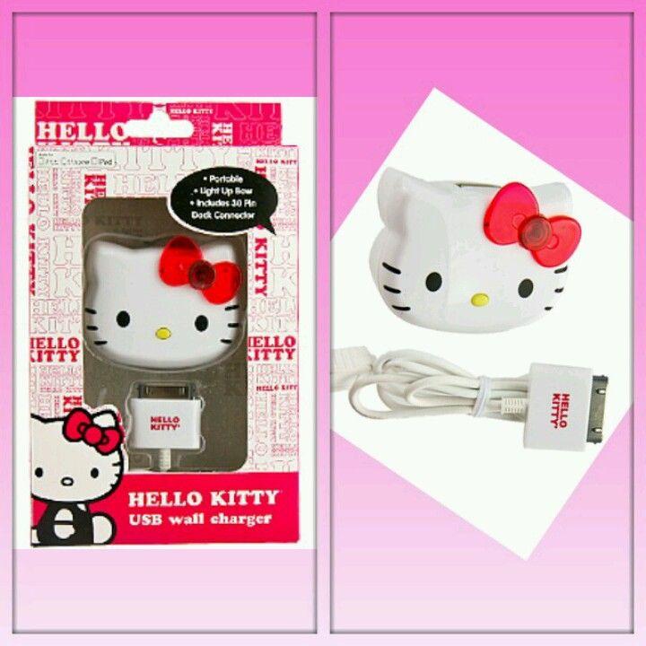 hello kitty usb wall charger hello kitty hello kitty on usb wall charger id=77164