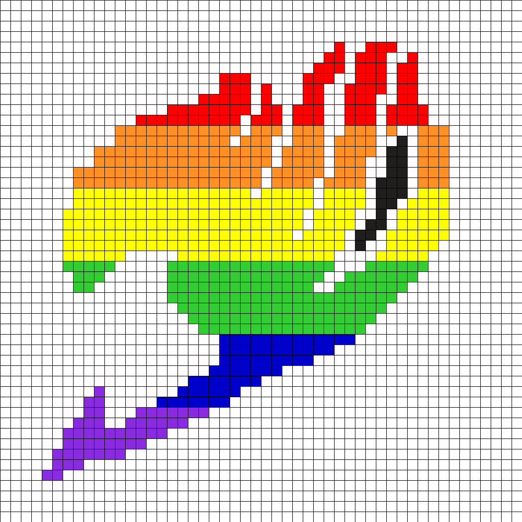 Vote For My Fairy Tail Perler Bead Pattern With Images