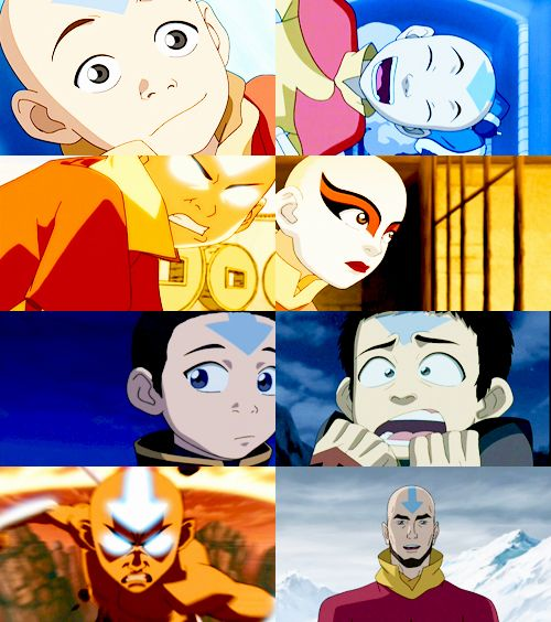 Avatar Aang With Hair: Aang The Last Air Bender... I Think He Looked Better With
