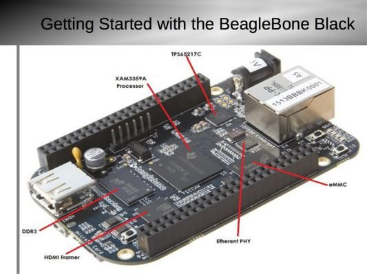 Getting Started with BeagleBone Black | Electric project