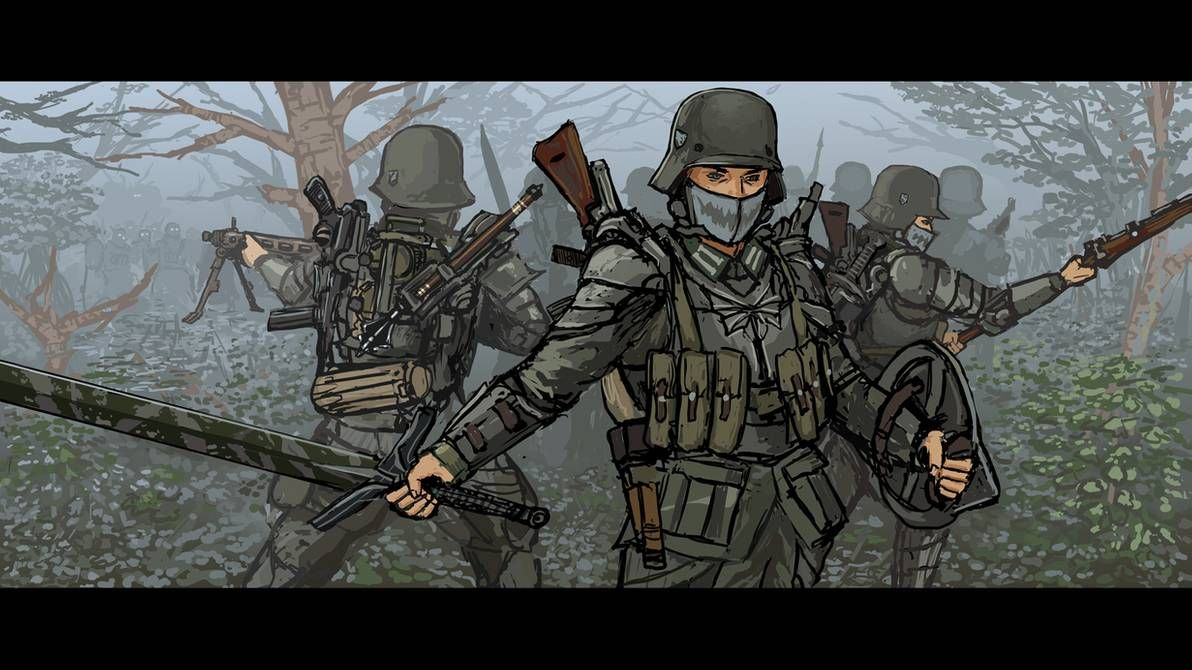 Downfall Into The Woods By Thedrowningearth On Deviantart In 2020 Concept Art Characters Weapon Concept Art Dieselpunk