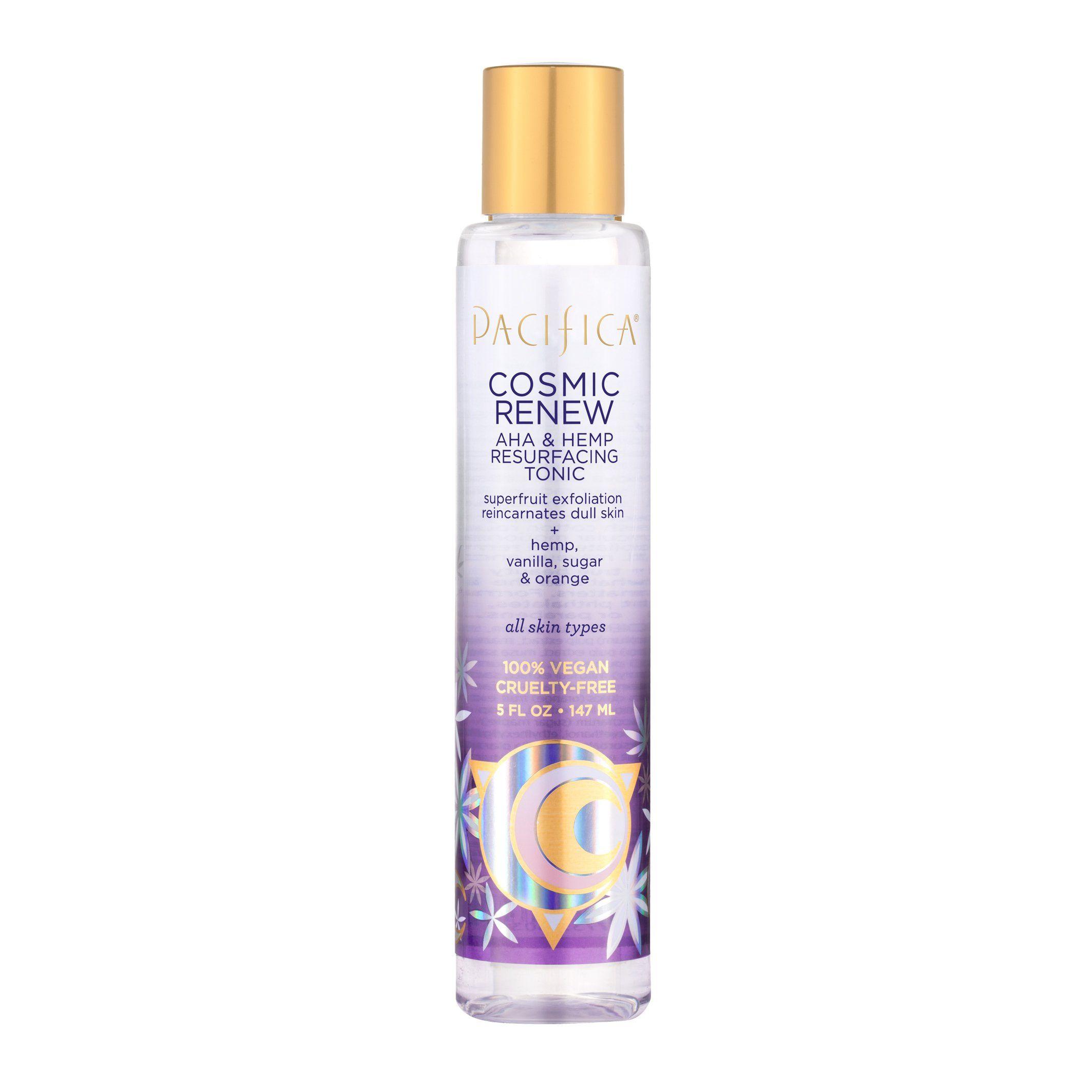Cosmic Renew Aha Hemp Resurfacing Tonic In 2020 Paraben Free Products Diy Dry Shampoo Hemp