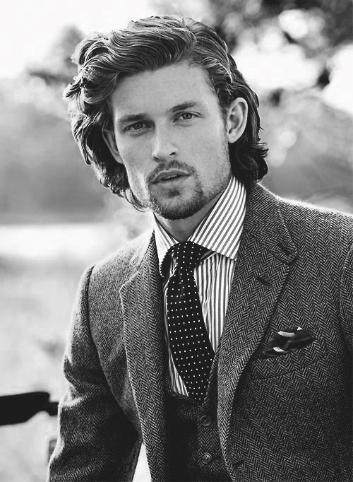 Reference For Fabrizio Caprice Looks Hair Vibe A Combed Back Long Hair Style Dressy Upscale Fo Long Hair Styles Men Long Hair Styles Mens Hairstyles