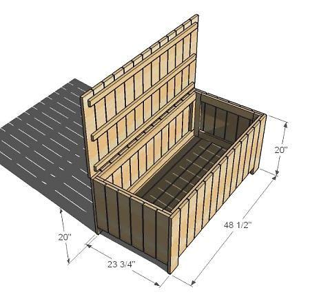 Outdoor Storage Bench Diy Storage Bench Outdoor Storage Wooden Storage Bench