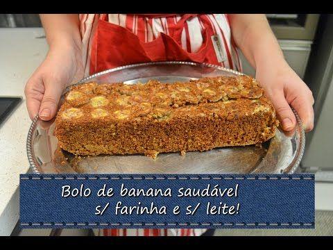 Bolo De Banana Aveia E Canela Sem Oleo Sem Trigo E Sem Leite