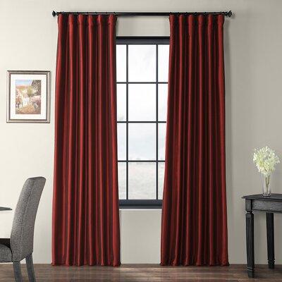 Alcott Hill Avedon Solid Blackout Rod Pocket Single Curtain Panel
