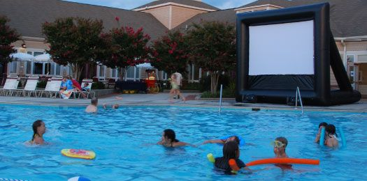 Projector And Screen Rental   Outdoor Movie Company   FunFlicks