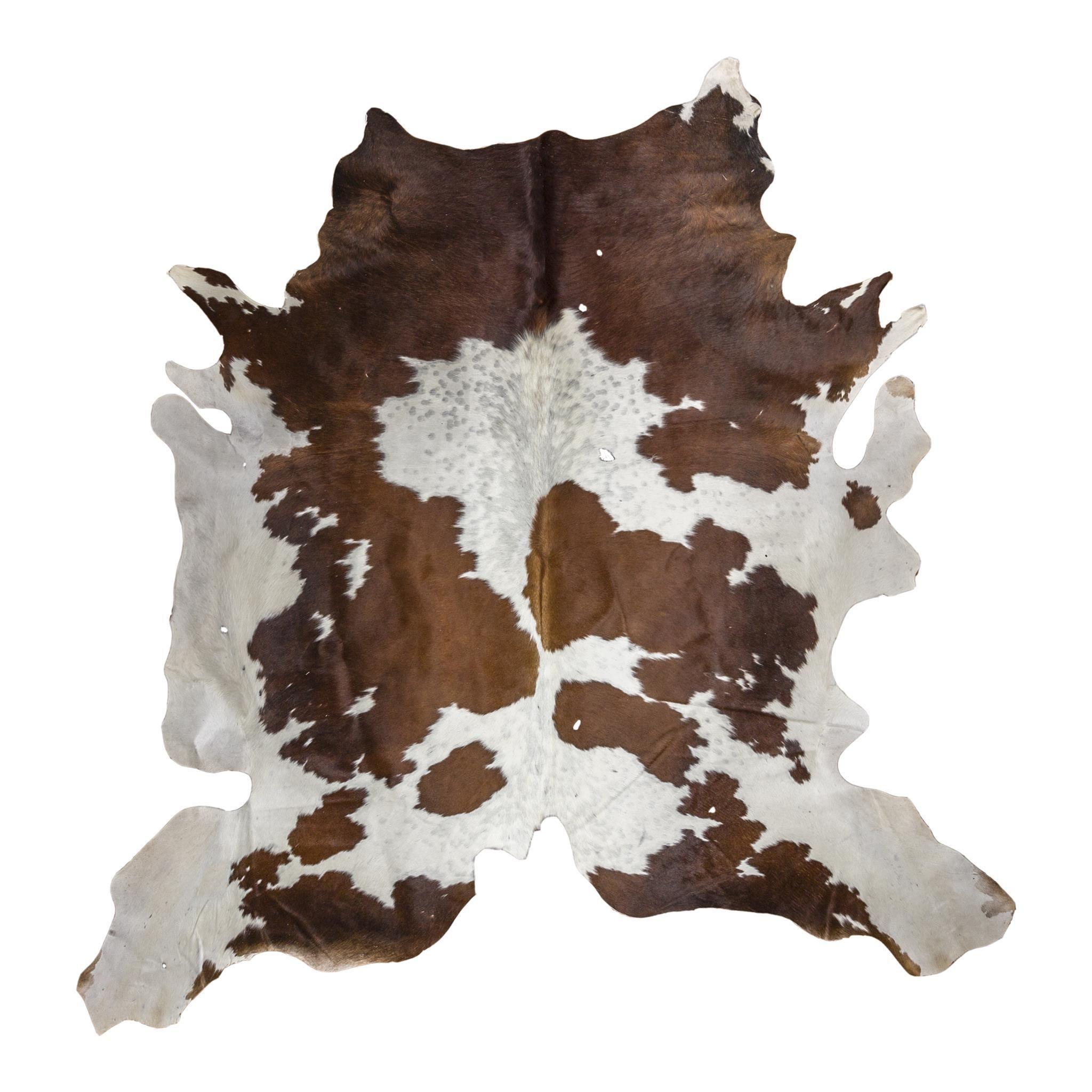 Brown White Natural Cowhide Rug In 2020 Cow Hide Rug Natural Cowhide Natural Rug