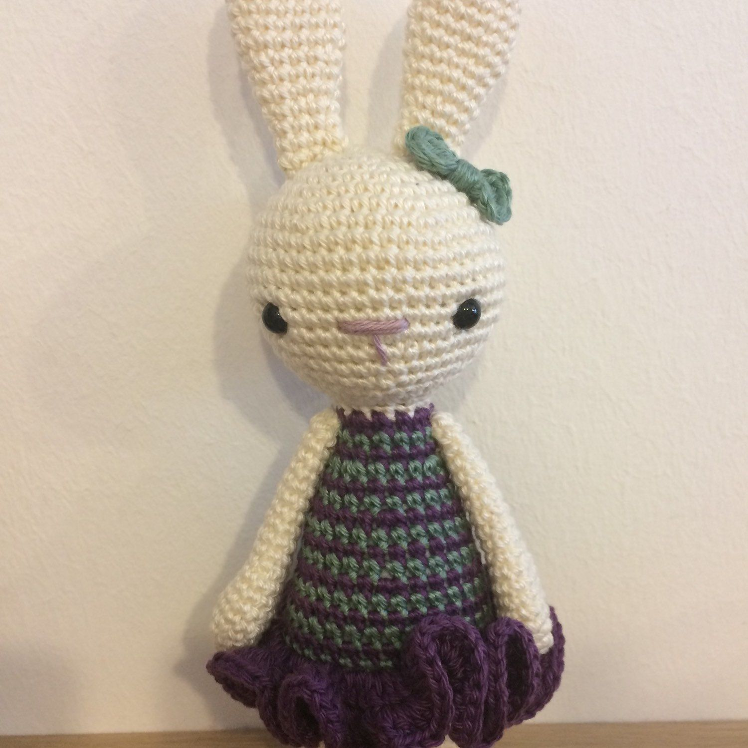 Custom version of Lily, the bunny.   Maggie\'s Crochet - All About ...
