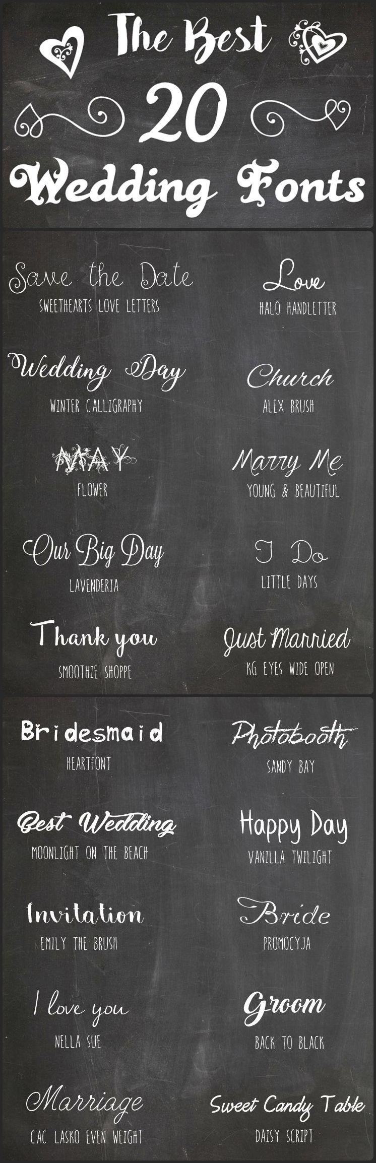 the best 20 wedding fonts die 20 sch nsten schriftarten zur hochzeit http. Black Bedroom Furniture Sets. Home Design Ideas