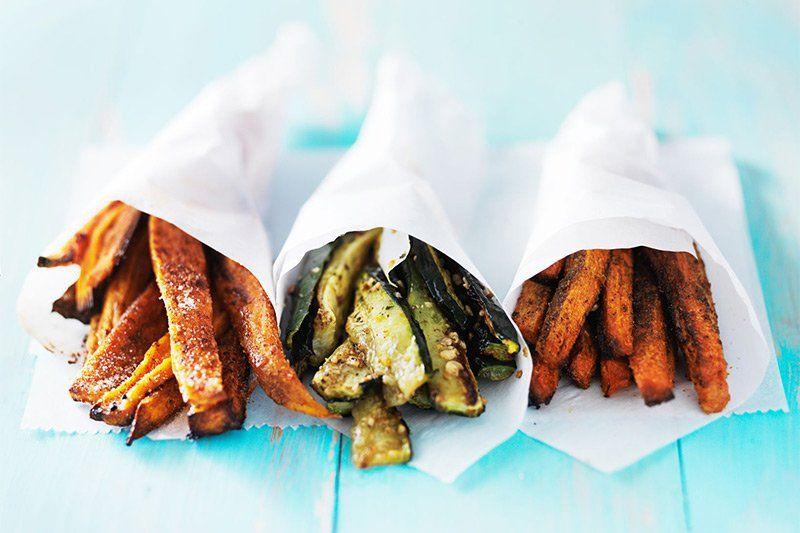 recept zoete aardappel friet uit de oven