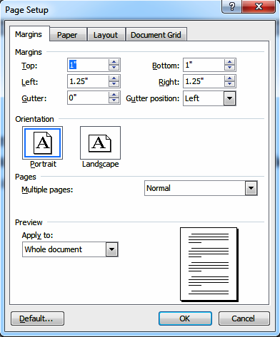 Page Setting And Formatting In Microsoft Word Verses For Cards Microsoft Word Document Words