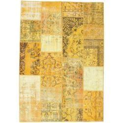 Photo of Patchwork Teppich 161×231 Moderner Teppich
