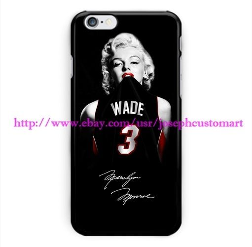 Marilyn Monroe Miami Heat Dwyane Wade Cover Case For iPhone 7 High Quality #UnbrandedGeneric #New #Hot #Limited #Edition #Disney #Cute #Forteens #Bling #Cool #Tumblr #Quotes #Forgirls #Marble #Protective #Nike #Country #Bestfriend #Clear #Silicone #Glitter #Pink #Funny #Wallet #Otterbox #Girly #Food #Starbucks #Amazing #Unicorn #Adidas #Harrypotter #Liquid #Pretty #Simple #Wood #Weird #Animal #Floral #Bff #Mermaid #Boho #7plus #Sonix #Vintage #Katespade #Unique #Black #Transparent #Awesome…