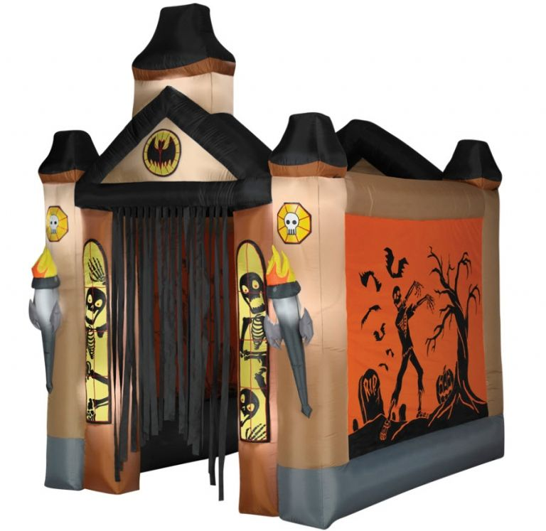 Haunted Tunnel Airblown - Decorations  Props Halloween Decoration - halloween decorations at walmart