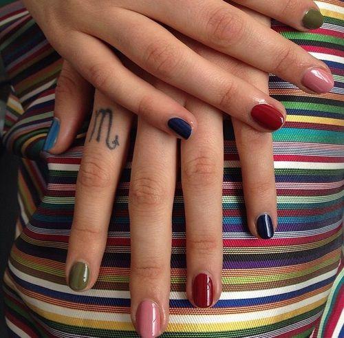 Pinterest: artcentral・゚・ | Nail art, Almond nail art, Cute ...