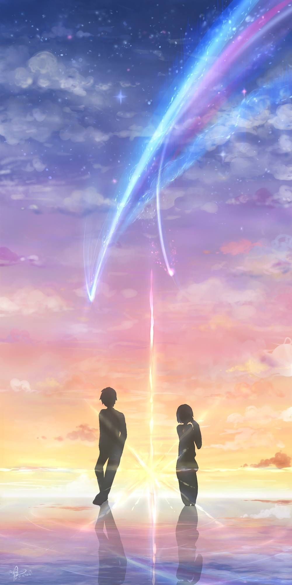 Kimi no nawa! Animes wallpapers, Anime e Anime de romance