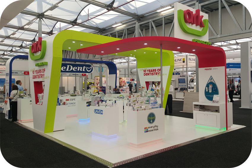 Exhibition Stand Essentials : Custom exhibition stand m m trade show stand ark health