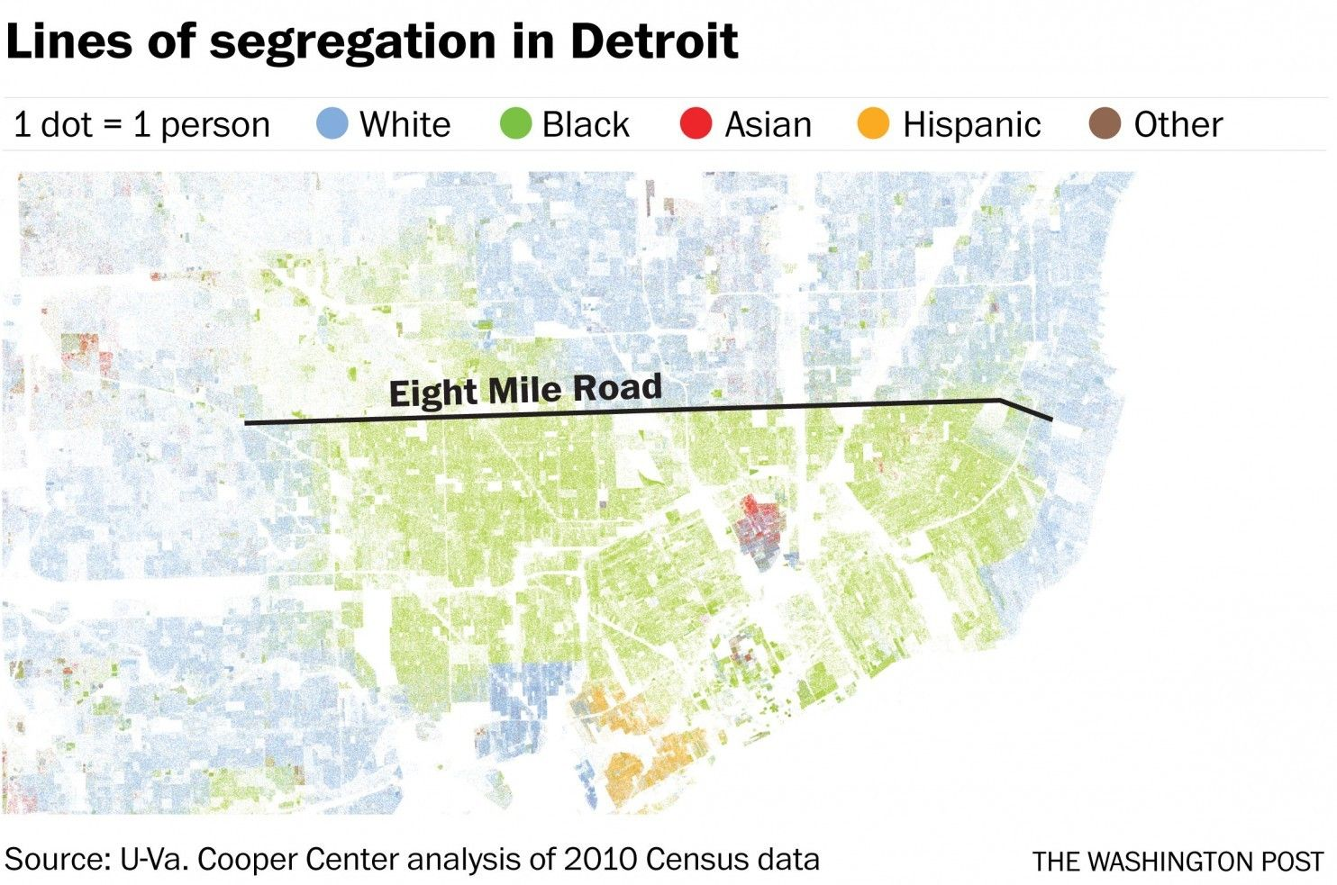 How Railroads Highways And Other Man Made Lines Racially Divide