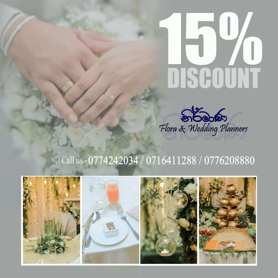 Nirmana Wedding Planners Offers In 2020 Wedding Planner Wedding Full Wedding
